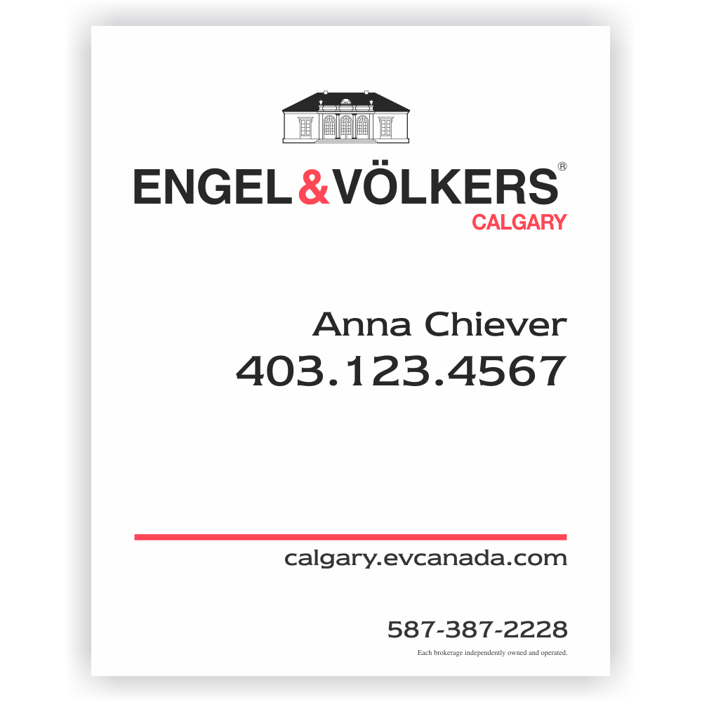 Engel volkers for sale sign 24 x 30 studio 4 signs - Engel and volkers ...